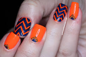 orange nails designs image collections nail art designs