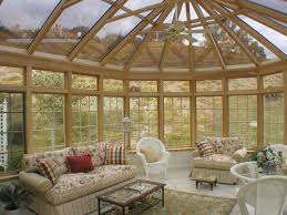 interior interesting sunroom interior design with white leather