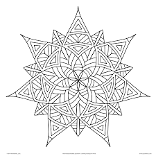 coloring pages kids geometrip shapes seeker seven art pictures