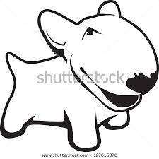 cartoon bull terrier stock images royalty free images u0026 vectors