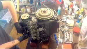 how to remove the cylinder head from a yamaha 50hp four stroke