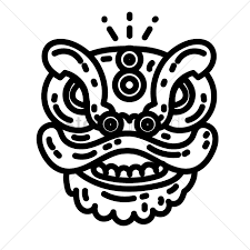lion dancer book lion vector image 1970623 stockunlimited