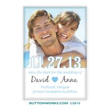 Save The Date Photo Magnets Custom Save The Date Magnets By Buttonworks Free Set Up