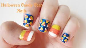 halloween candy corn nail design sunshine citizen