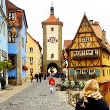 Rothenburg Germany Map by Travel Diary Romantic Road Germany I Believe In Pink