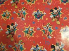 mickey mouse christmas wrapping paper dreamworks hallmark how to your 2 party gift