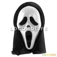 Meme Scary Face - scream scary movie ghost face mask prop halloween party fac011