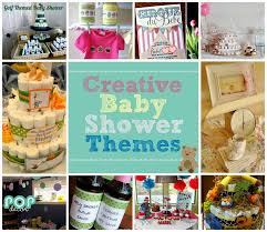 unique baby shower themes for a decorating of party
