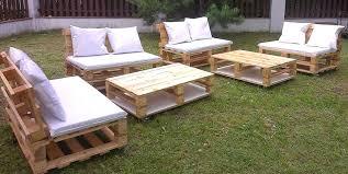 canapé exterieur en palette salon jardin en bois trendy salon de jardin bois weldom photo