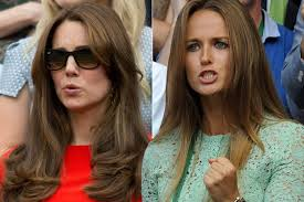 kate middleton s shocking new hairstyle kate middleton vs kim murray s hair who styles it best in the