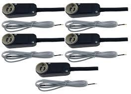 halogen oder led trango 5er pack sicherheits gu10 anschlusskasten inkl 100cm 2x0