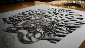 creating a half sleeve design design graphics