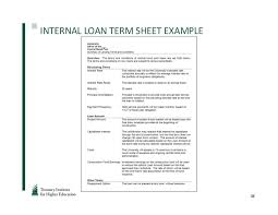 Estate Deal Sheet Template Loan Term Sheet How To Get With A Credit Card Without