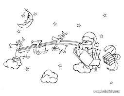 free printable santa sleigh coloring pages santa sleigh colouring