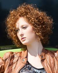hair styles for small necks neck length hairstyle with small curls long enough to cover the ears