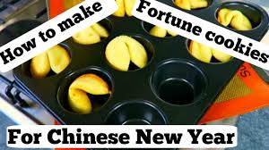 Where Can You Buy Fortune Cookies How To Make Fortune Cookies For Chinese New Year Youtube