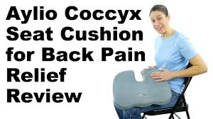 Back Pain Chair Cushion Aylio Coccyx Seat Cushion For Back Pain Relief Review Ask Doctor