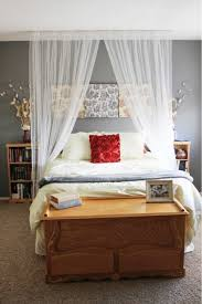 canopy curtain over bed the house that built me pinterest