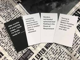 cards against humanity for sale home crafted cards against muggles launches sells out in a day