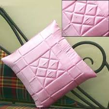 Cusion Cover Satin Pink Cushion Cover