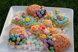 easter goodies easter goodies made from rice krispie treats