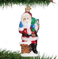 santa ornaments traditions