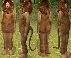 Cowardly Lion Costume Mod The Sims The Cowardly Lion Of Oz