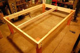 Simple Platform Bed Frame Raised Platform Bed Frame How To Make A Simple Platform Bed Strong