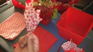 how to use tissue paper in a gift box how to prep tissue for bouquets and baskets 1 in series of