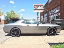 Dodge Challenger With Rims - dodge challenger with kmc wheels no limit inc