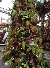 brown s christmas tree green and brown decorated christmas tree psoriasisguru
