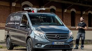mercedes minivan mercedes benz teams with silicon valley startup on delivery drone