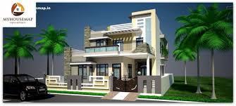 building design exterior front elevation design house map building design
