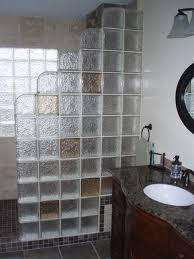 glass block bathroom designs glass block shower contemporary bathroom cleveland by innovate