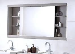Recessed Bathroom Medicine Cabinets Recessed Vanity Mirror Cabinet Bathroom Medicine Cabinets With