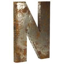 zentique letter d small rustic metal home decor pinterest