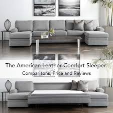 Leather Sleeper Sofa American Leather Comfort Sleeper What To Before You Buy