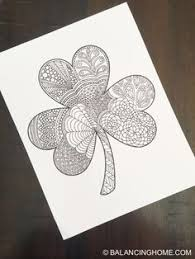 st patrick u0027s day coloring pages st patrick u0027s day shamrock