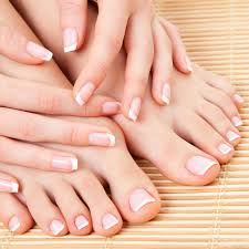 french pedicure and or nail decorationsfrench pedicure and or nail
