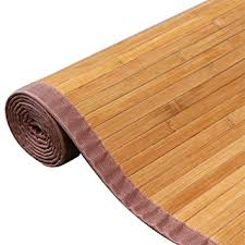 Bamboo Area Rug Yaheetech Bamboo Area Rug Carpet 5 X 8 Brown
