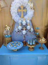 Baptism Decorations Boy Image Result For Boys Baptism Party Ideas Boys Baptism First