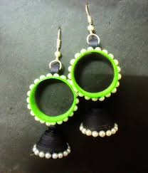 easy earrings beautiful easy paper quilling jewellery designs images