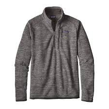 patagonia men u0027s better sweater quarter zip fleece