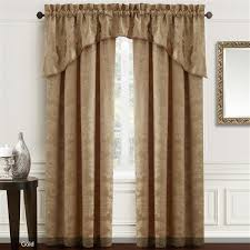 Chocolate Brown Valances For Windows Window Treatments