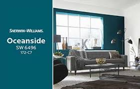 oceanside sw 6496 blue paint color sherwin williams