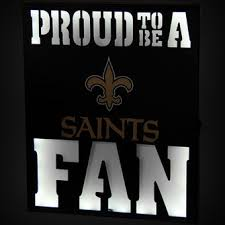 New Orleans Wall Decor New Orleans Saints Wall Decor Saints Home Decor Saints Pro Shop