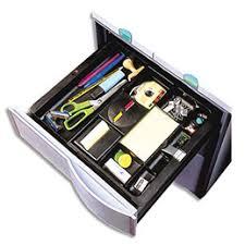 organisateur de tiroir bureau organiseur de tiroir c71 4 x 30 cm noir achat pas cher