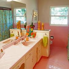 Pink And Brown Bathroom Ideas Colors 73 Best What To Do With A 50 U0027s Pink Bathroom Images On Pinterest