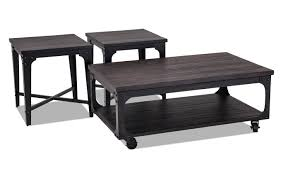 dark wood coffee table sets coffee end tables bob s discount furniture