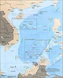 Chinese Map Of America by Nine Dash Line Wikipedia